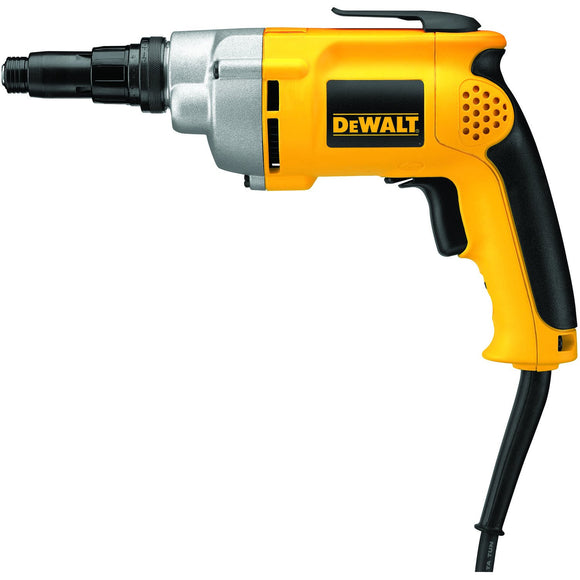 Dewalt DW268 Corded Screwdriver, 120 V, 6.5 A, 0 - 2500 Rpm