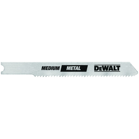 DeWalt DW3726-5 U Shank Metal Cutting Jig Saw Blades