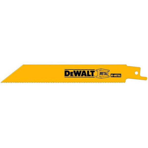 Dewalt Metal Cutting Reciprocating Straight Saw Blades Blade Length: 6