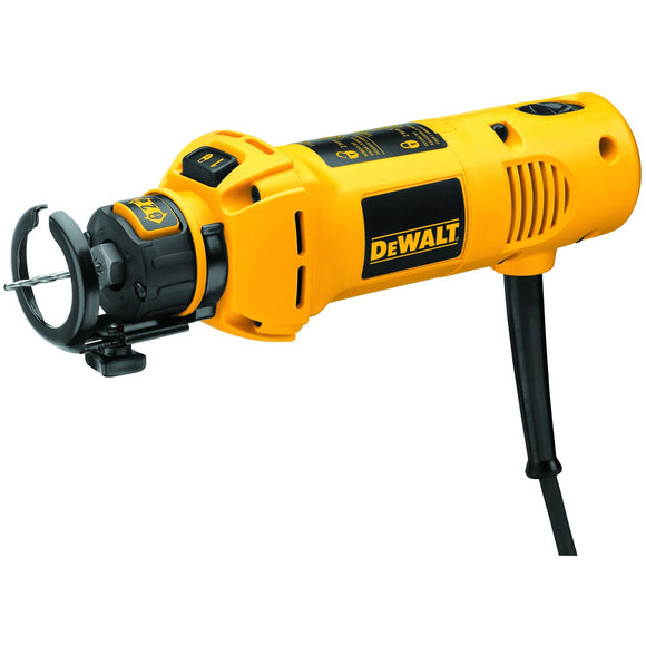 Dewalt DW660 Corded Cut Out Tool, 120 V, 5 A, 1/8 In, 1/4 In Keyless Collet Chuck, 30000 Rpm