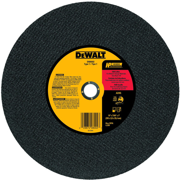 DeWalt DW8002 Blade Saw Circular 14In