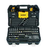 DeWalt DWMT73802 Metric/Sae Socket Wrench Set, 142 Pieces, 1/4 Or 3/8 In, 6 Points