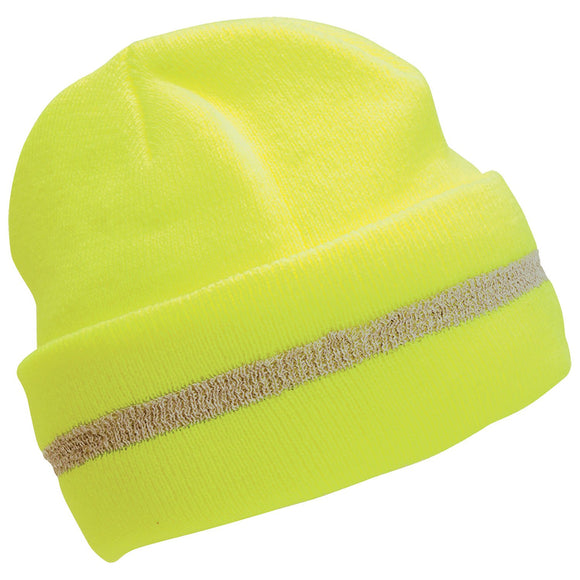 ERB Industries 63196 S109 Hi-Viz Lime Knit Hat