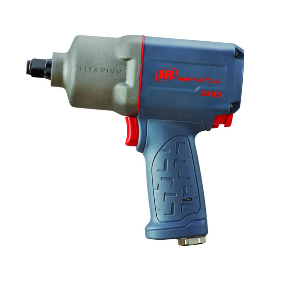 Ingersoll Rand 2235TIMAX General Duty Air Impact Wrench, 1/2 In, 8500 Rpm, 1220 Bpm, 24 Cfm, 1/4 In Npt