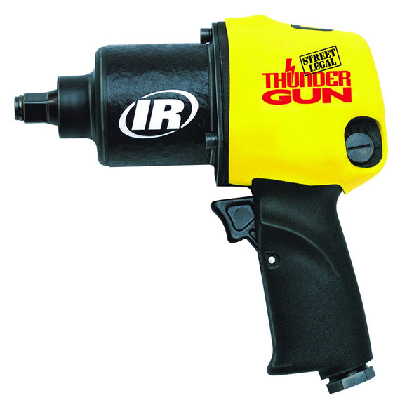 Ingersoll Rand 232TGSL Thundergun Air Impact Wrench, 1/2 In, 10000 Rpm, 5.4 Cfm, 90 Psig, 1/4 In Npt