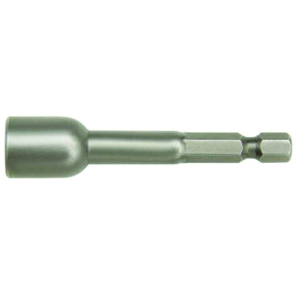 IRWIN Industrial 94812 Magnetic Lobular Nutsetter, 1/4 In, 1/4 In Hexagonal Shank, Tool Steel