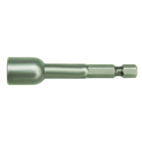 IRWIN 94832 Magnetic Lobular Nutsetter, 5/16 In, 1/4 In Hexagonal Shank, Tool Steel