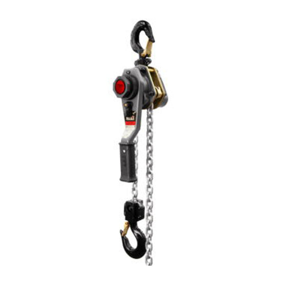 JPW Industries 376301 Jlh Series 1-1/2 Ton Lever Hoist, 10' Lift With Overload Protection