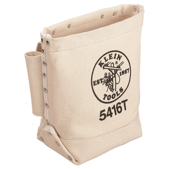 Klein Tools 5416T Canvas Bull Pin/Bolt Bag, Tunnel Loop