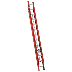 Louisville Ladder FE3224 Fiberglass Extension Ladder