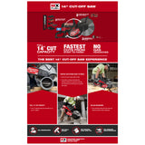 "Milwaukee MXF314-1XC MX Fuel 14"" Cut-Off Saw"