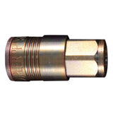 "Milton Industries S-1805 3/8"" Fnpt P Style Coupler"