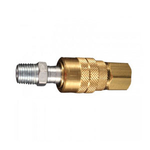 "Milton Industries S711 1/4"" Npt M Style Coupler And Plug"