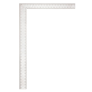 Empire Level 1140 Professional Framing Square, 24 X 2 In, 1/8, 1/10, 1/16 In, 16 X 1-1/2 In Tongue, Aluminum