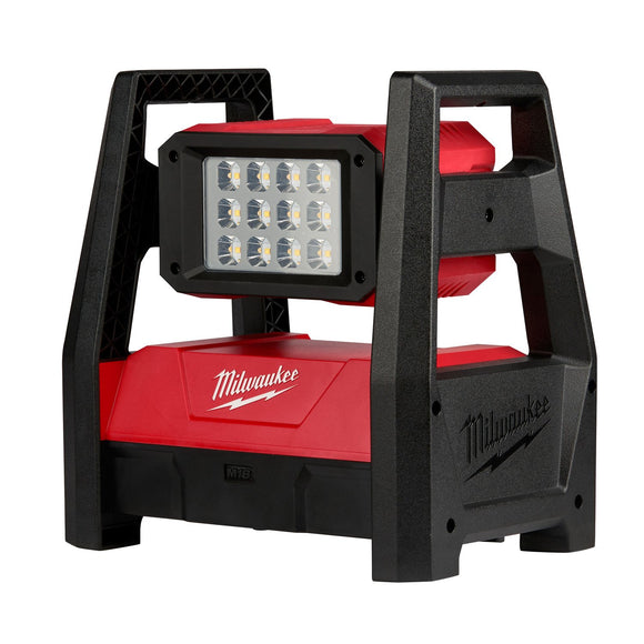 Milwaukee 2360-20 Cordless Compact Rechargeable High Performance Flood Light, 18 V, 3000 Lumens