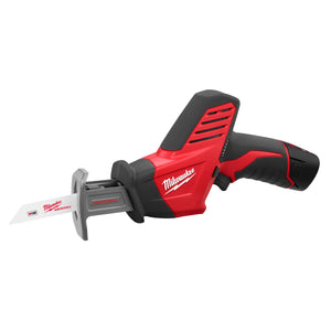 Milwaukee 2420-21 Hackzall M12 Straight Cordless Reciprocating Saw Kit, 12 V, Li-Ion, 1.4 Ah, 0 - 3000 Spm