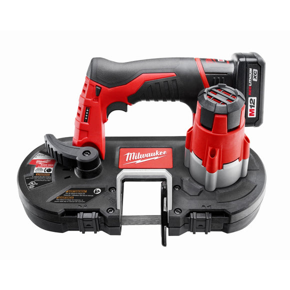 Milwaukee 2429-21XC M12 Series Cordless Band Saws, Sub-Compact, Deep Cut