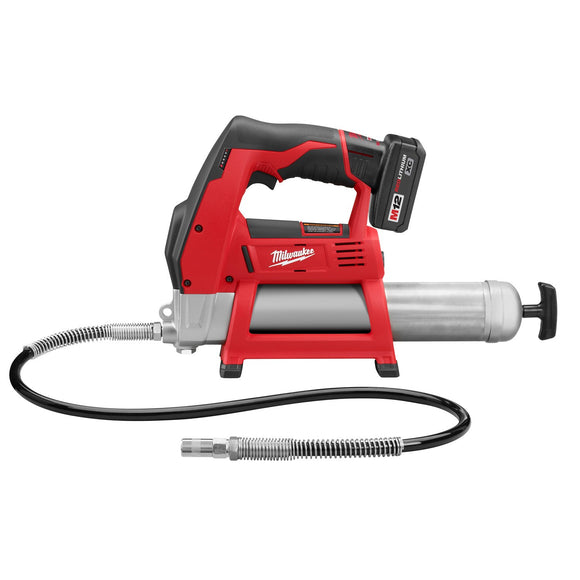 Milwaukee 2446-21XC M12 Cordless LITHIUM-ION Grease Gun Kit