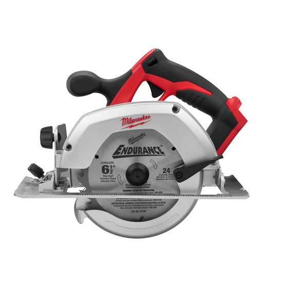 Milwaukee 2630-20 Heavy Duty Circular Saw, 18 V, 5/8 In Shank