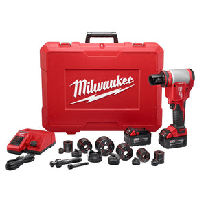 "Milwaukee 2676-22 Forcelogic™ M18™ 10 Ton Knockout Tool 1/2"" To 2"" Kit"
