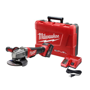 "Milwaukee 2780-21 M18 Fuel 4-1/2"" /5"" Grinder, Paddle Switch No-Lock Kit"
