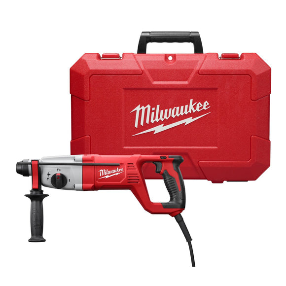 Milwaukee 5262-21 Corded Rotary Hammer Kit, 120 V, 7 A, 1 In Sds Plus Chuck, 0 - 1500 Rpm
