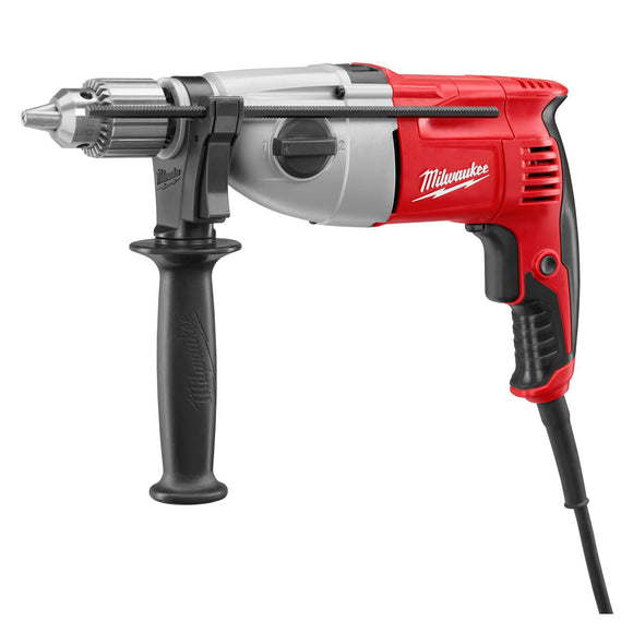 Milwaukee 5378-20 Corded Hammer Drill, 120 V, 7.5 A, 1/2 In Keyed Chuck, 0 - 1350/0 - 2500 Rpm