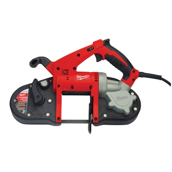 Milwaukee 6242-6 Compact Corded Band Saw, 120 Vac, 7 A, 200 - 360 Spm