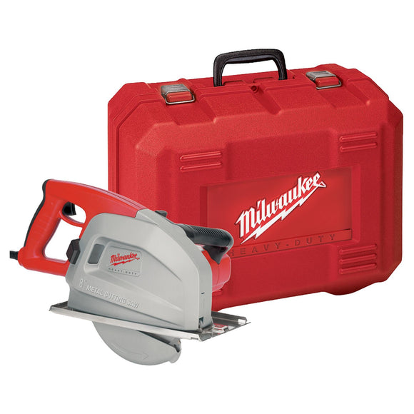 Milwaukee 6370-21 Grounded Corded Circular Saw Kit, 120 Vac, 13 A, 8 In