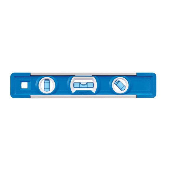Empire Level EM81.9 True Blue Em81 Magnetic Torpedo Level, 0.0005 In 9 In L, Aluminum