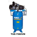 Puma Industries TUE7580VM 7.5-HP 80-Gallon (Belt Drive) Two-Stage Air Compressor (230V 1-Phase)