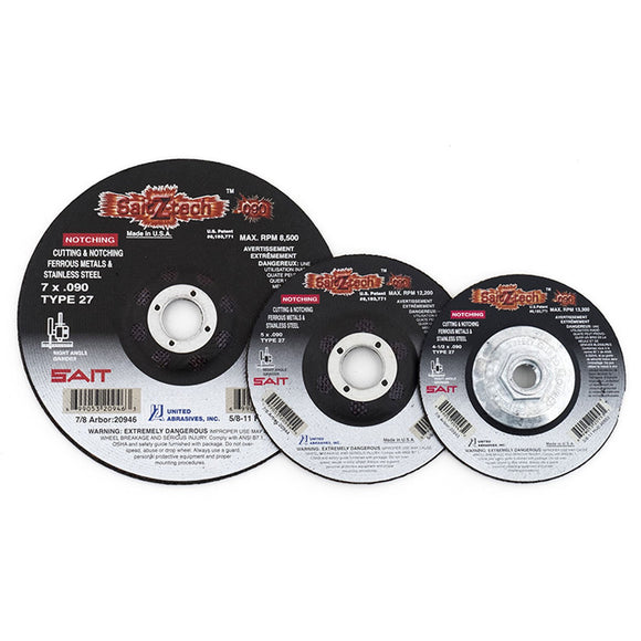 United Abrasives 20943 Z-Tech™ Cutting Wheel