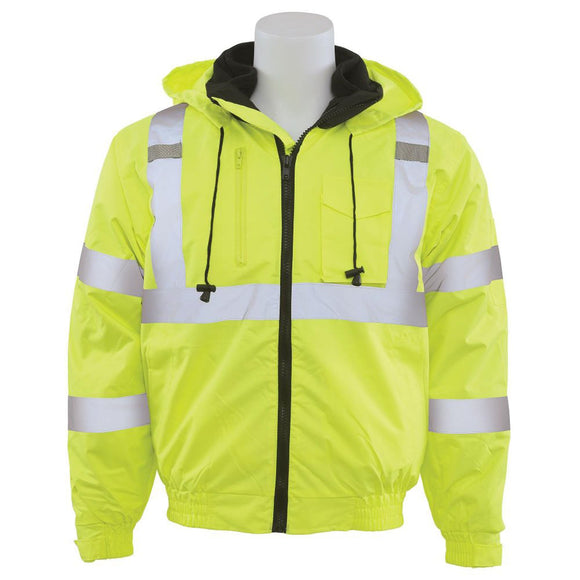 ERB Industries 62434 W510 Hi-Viz Lime Bomber Jacket
