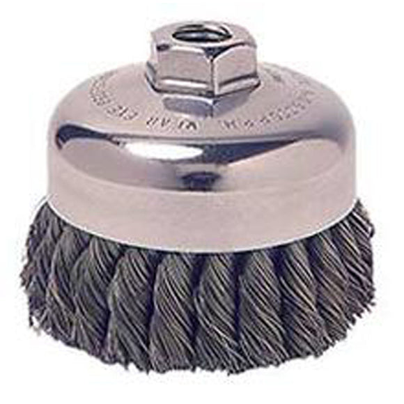 Weiler 36044 Knot Wire Cup Brush
