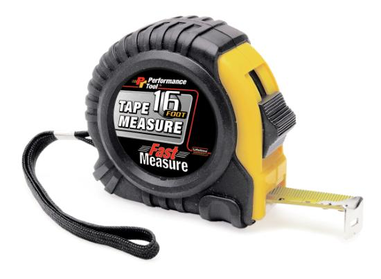 Performance Tool W5022 16' Tape Measure
