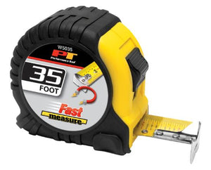 Performance Tool W5035 35' Tape Measure With Magnetic Tip