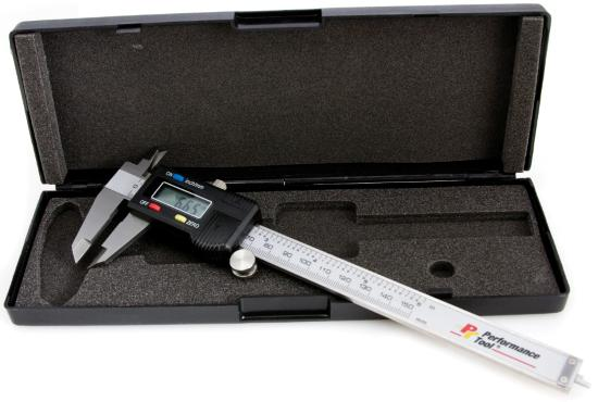 Performance Tool W80152 Digital Caliper 0-6