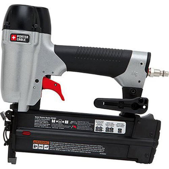 Porter-Cable BN200C Brad Nailer Kit, 18 Ga Nail, 2.83 Cfm At 80 Psi Cfm, 5/8 - 2 In, 100 Capacity, 70 - 120 Psi