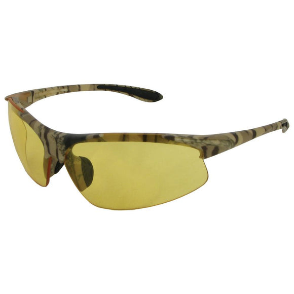 ERB Industries 18616 Commandos Camo Amber Safety Glasses