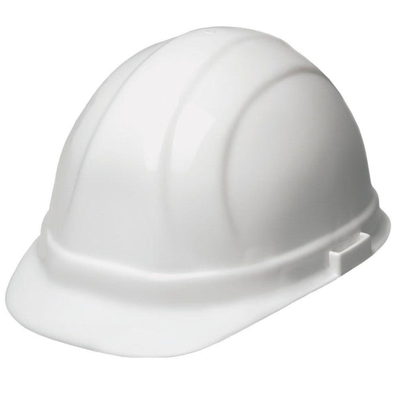 ERB Industries 19131 Omega II 6Pt Std White Hard Hat