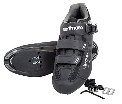 Tommaso Strada 200 Dual Cleat Compatible Spin Class Ready Bike Shoe - SPD - 47