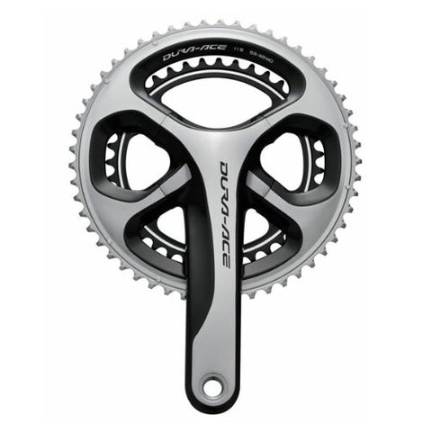 Shimano Dura-Ace FC-9000 11-Speed Crankset (Grey, 52/36T, 172.5-mm)