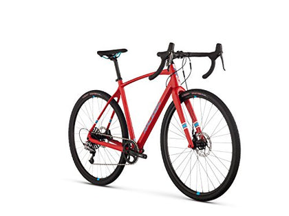 Raleigh Bikes Roker Comp All Road Bike, Red, 58 cm/Large