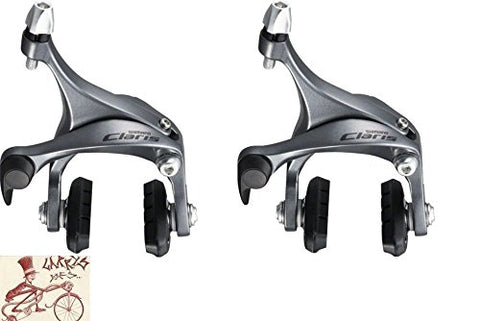 Shimano BR-2400 Claris Caliper Front and Rear Silver Road Bicycle Brakes