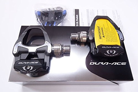 Shimano Dura-Ace PD-9000 Carbon Road Pedal (Black/Grey)