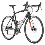 Diamondback Bicycles Century 2 Road Bike, 56cm/Large, Gloss Black