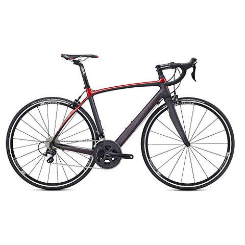 Kestrel Legend Shimano 105 Road Bike, XX-Large/62 cm, Satin Carbon/gloss Brick Red