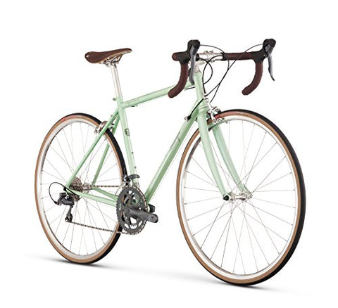 Raleigh Bikes Women's Super Course Endurance Road Bike, Green, 48cm/XX-Small