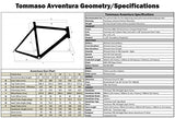 Tommaso Avventura Shimano Sora Gravel Adventure Bike With Disc Brakes And Carbon Fork Perfect For Road Or Dirt Trail Touring, Matte Black - Small