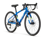 "Raleigh Bikes Raleigh Rx24 Youth Road Bike, 24"" Wheel, Blue, 24"" / One Size"